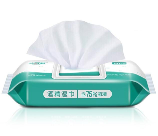 安可新 AKX-4857 酒精湿巾 40抽