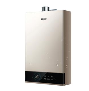 Haier 海尔 海尔(Haier)16升燃气热水器天然气水伺服恒温密闭稳燃舱智护自清洁家用WIFI智控JSQ31-16JM6(12T)U1