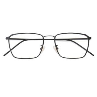 潮库 复古近视眼镜9144+赠1.56防蓝光镜片