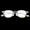 SEIKO 精工 H03097 黑框银腿钛材眼镜框+1.67折射率 非球面镜片