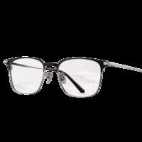 海伦凯勒配近视眼镜男新品商务男士眼镜方框近视眼镜框架可配蔡司镜片H58076 蔡司佳锐系列1.60镜片 镜框