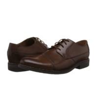 Clarks 其乐 Becken Cap系列 男士商务正装鞋 261231387 棕褐色 42