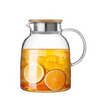 6日10点 : 佳佰 JB180106 玻璃冷水壶 1700ml