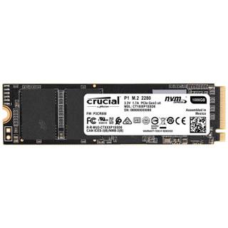 crucial 英睿达 P1 NVMe M.2 固态硬盘 1TB(PCI-E3.0)
