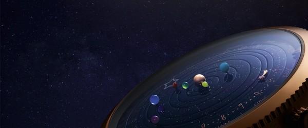 小编精选:Van Cleef & Arpels 梵克雅宝 Midnight Planétarium 男士腕表 VCARO4J000