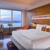 近鼓浪屿码头!厦门海港英迪格酒店海景房2晚(含双早+下午茶)