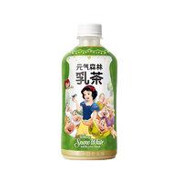 Genki Forest 元気森林 迪士尼联名乳茶 茉香奶绿味 450ml*12瓶 整箱装