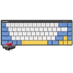 Dareu 达尔优 EK868 矮轴蓝牙键盘 红轴