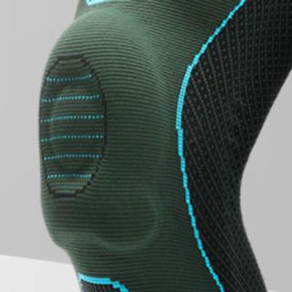RIGORER 准者 护膝 Z320330220 墨绿 M 升级款