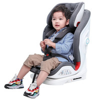 360 T901 安全座椅 9月-12歲 灰色