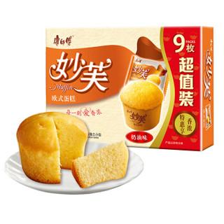 康师傅 妙芙蛋糕 奶油口味 432g *5件