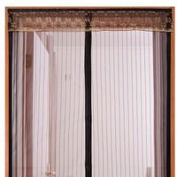 防蚊门帘魔术贴夏季高档磁性纱窗家用卧室隔断纱门帐自吸磁铁对吸