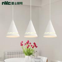 nvc-lighting 雷士照明 简雅 北欧3头餐吊灯