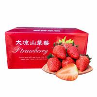 yuguo 愉果 露天新鲜采摘 草莓 3斤 *3件