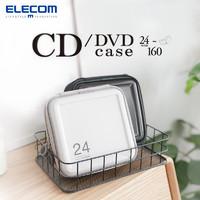 ELECOM日本游戏光盘包CD盒光碟包DVD盒创意CD收纳包大容量光盘收纳包 *8件