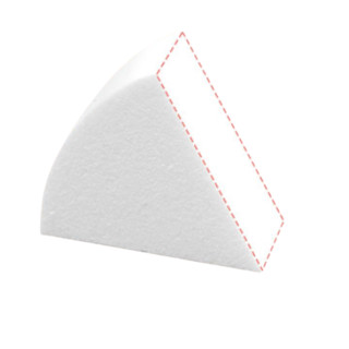 MAOGEPING 毛戈平  干湿两用三角粉扑
