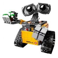 兼容樂高83003创意系列高砖版瓦力机器人21303拼装积木玩具16003