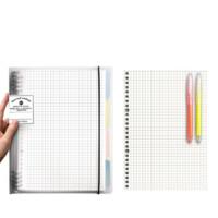 科星 紧凑型不硌手活页笔记本 B5/60张 送1本替芯+1支荧光笔+4色分隔页 *3件