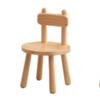 JIAYI 家逸 RF-SM140 实木小凳子 豆豆椅 原木色 30*47cm