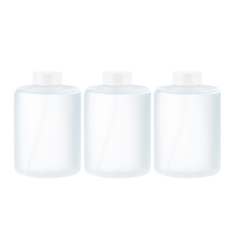 MI 小米 自动洗手机套装 智能家用感应泡沫儿童洗手机植物精华卫生间洗手液 泡沫洗手液(3瓶装)