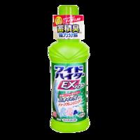 Kao 花王 日本进口 花王(KAO) 酵素EX强力洗衣液/彩漂剂 600ml 净污 持久芬芳 含柔顺成分