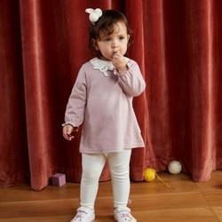 迷你巴拉巴拉宝宝套装2021春秋婴儿套装