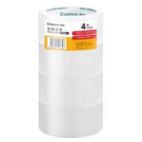 COMIX 齐心 EDP4 透明胶带 4.5cm*40y/卷 4卷装