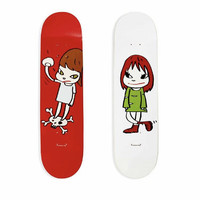 HOWstore Yoshitomo Nara奈良美智MoMA限定潮流艺术滑板板面