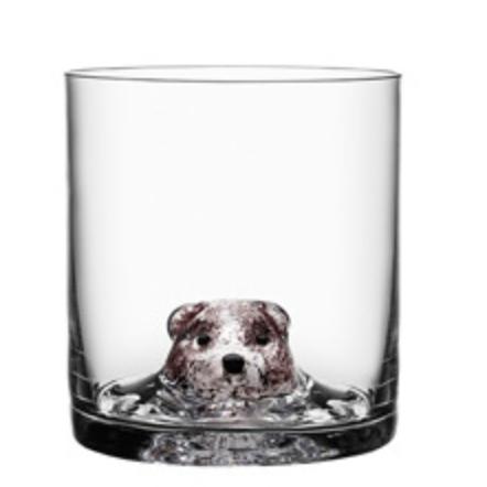 """KOSTA BODA """"新朋友""""系列 可爱动物水晶玻璃杯 1只装"""
