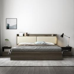 布拉德 K009 收纳储物床 高箱床 1.2m床