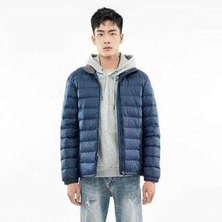BLACK ICE 黑冰 男子户外羽绒衣 T1201 藏蓝 XXL