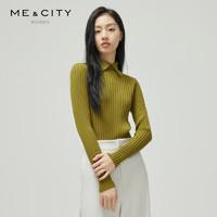 ME&CITY 529617 女士修身针织衫