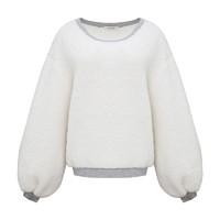 HUMMI 女士羊羔绒长袖睡衣