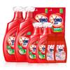 OMO 奥妙 除菌除螨系列 洗衣液套装 3kg*2瓶+1kg*2瓶+400g*2袋+100g*2瓶 桉树艾草香+淡雅樱花