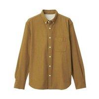 MUJI 无印良品 56310511950 男式法兰绒纯棉衬衫
