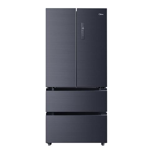 Midea 美的 美的230升三门一级变频风冷无霜节能省电小冰箱小型家用智能家电