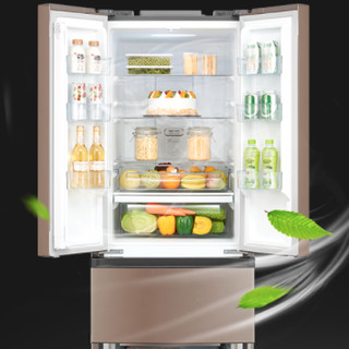 Midea 美的 BCD-319WTPZM(E) 风冷多门冰箱 319L 爵士棕