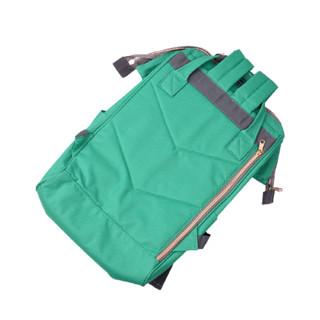 anello 阿耐洛 男女款双肩背包 AT-B0193A 鲜绿色 中号