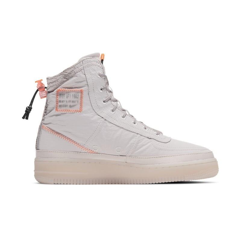 NIKE 耐克 Air Force 1 Shell 女子篮球鞋 BQ6096-003 白紫/橙红/海藻绿/金属银 40