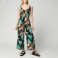 Whistles 女士热带花卉连身裤