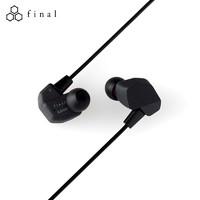 中亚Prime会员:FINAL Audio A3000 入耳式有线耳机 黑色