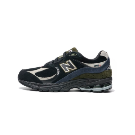 new balance 2002R 中性 跑鞋 ML2002R9 黑蓝/墨绿 40