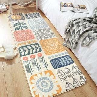 DAJIANG 大江 地垫简约卧室沙发家用长方形床边床前地毯时尚客厅茶几垫脚垫