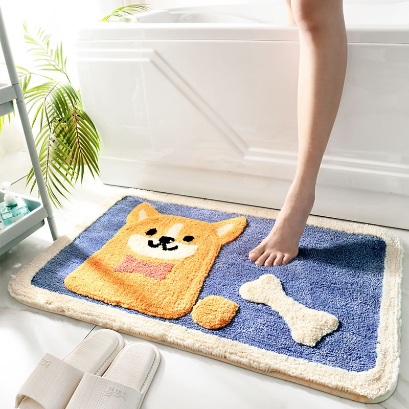 DAJIANG 大江 地垫卫生间门口洗手间浴室防滑垫吸水垫门垫进门家用地毯脚垫