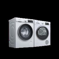 SIEMENS 西门子 WM12P2602W+WT47W5601W 洗烘套装 白色
