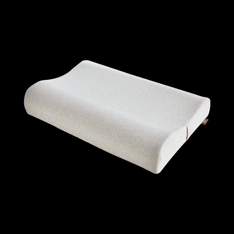 8H 可水洗特拉雷成人乳胶枕三曲线高低护颈枕头单人枕芯小米生态