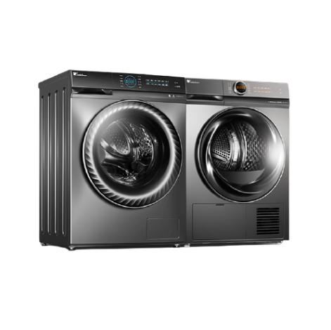 LittleSwan 小天鹅 洗烘套装智能家电全自动家用烘干机洗衣机热泵式干衣88+36