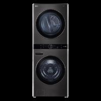 LG 乐金 Washtower系列 FN35BQH 热泵 洗烘一体机 19kg 黑色
