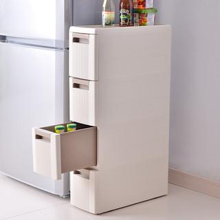 BELO 百露 收纳柜(五层、抽屉式、咖啡色)