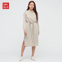 UNIQLO 优衣库  436063 衬衫连衣裙